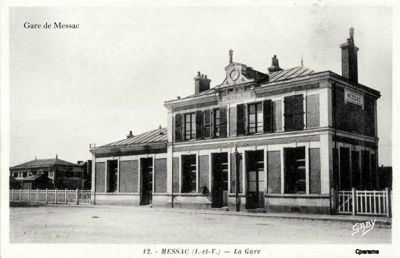 Gare de Messac (ligne Rennes-Redon) 13934210