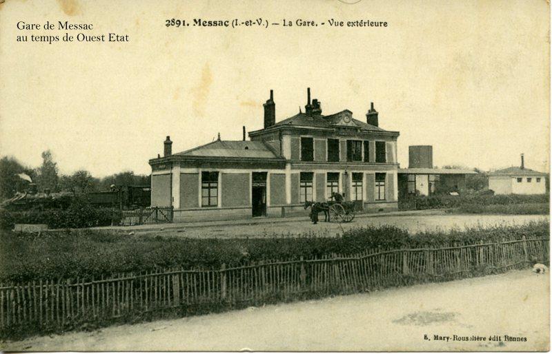 Gare de Messac (ligne Rennes-Redon) Normal10