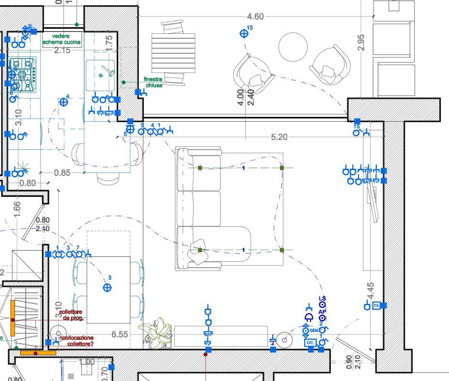 Predisposizione Home Theatre per casa in costruzione 70b58a10