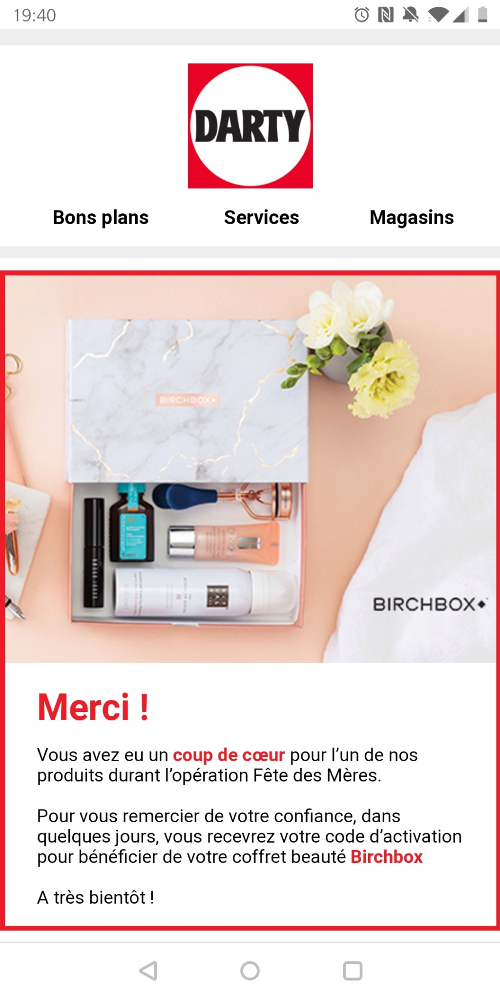 [Juin 2019] Birchbox   Screen13