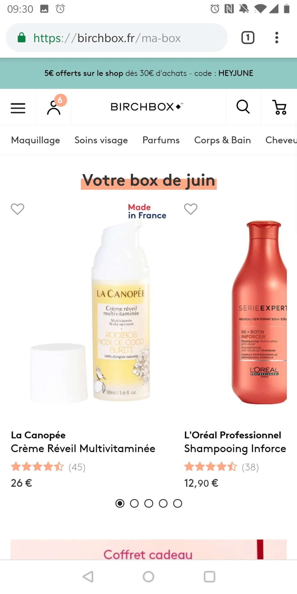 [Juin 2019] Birchbox   - Page 2 Screen15