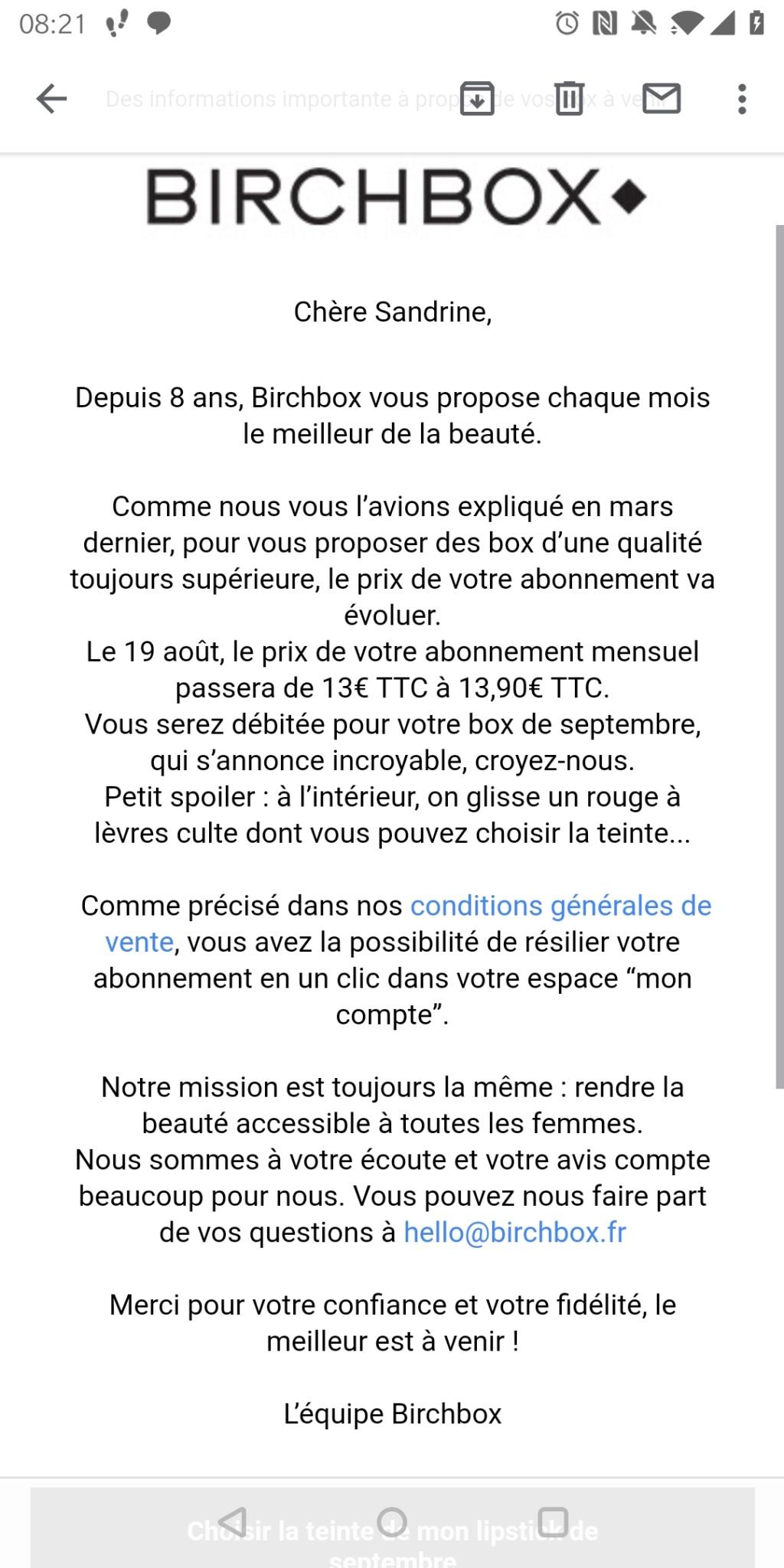 [Septembre 2019] Birchbox Screen18