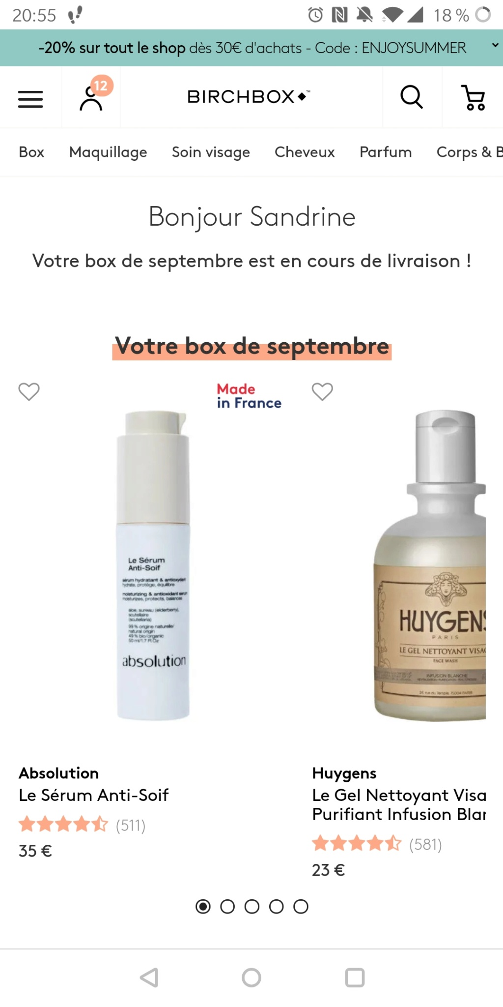 [Septembre 2019] Birchbox - Page 2 Screen19