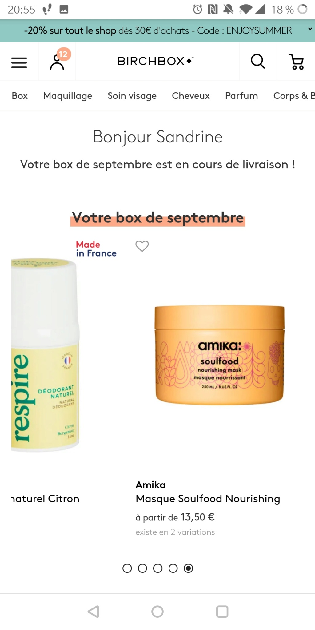[Septembre 2019] Birchbox - Page 2 Screen21