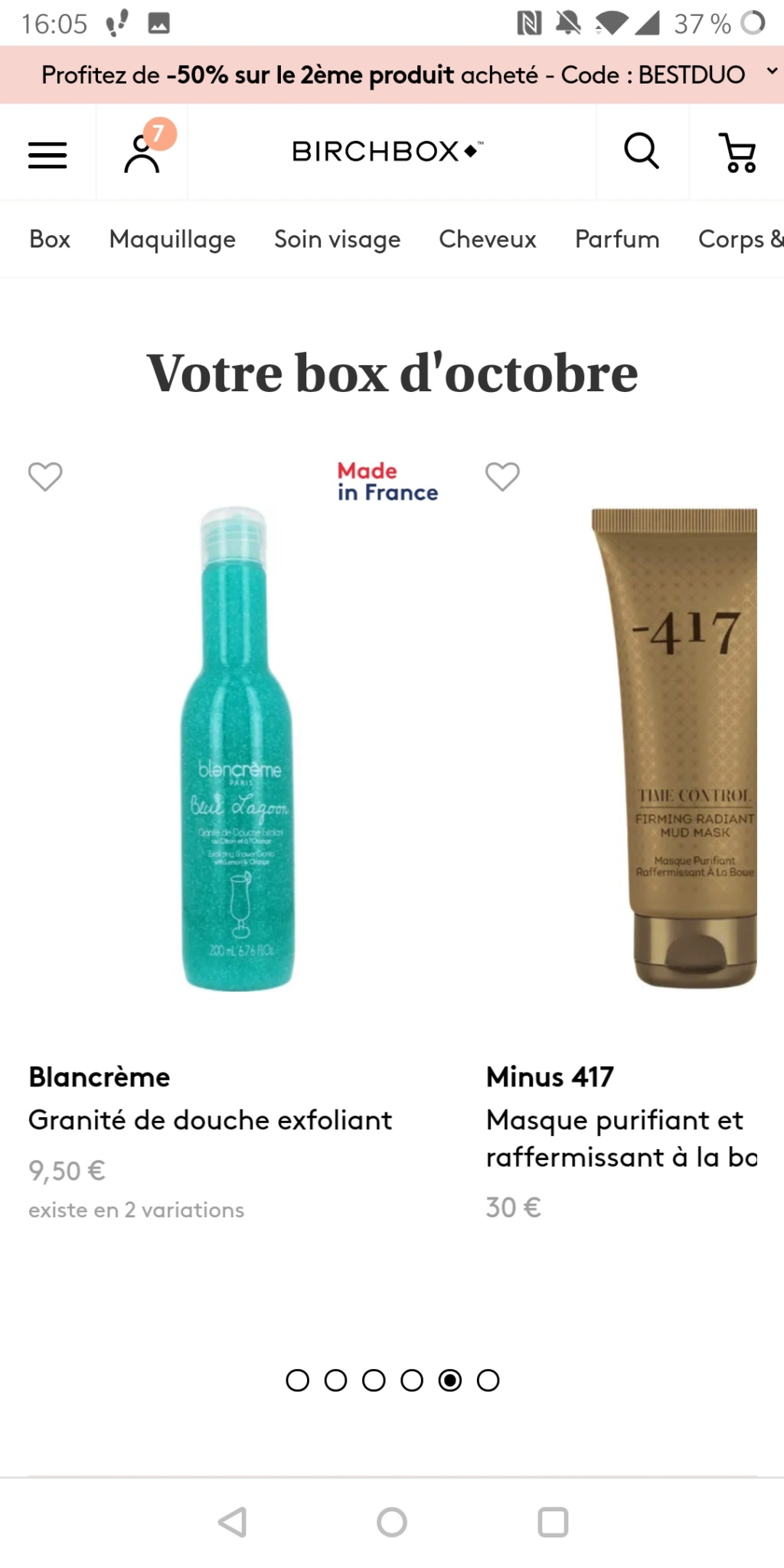 [Octobre 2019] Birchbox - Page 2 Screen25