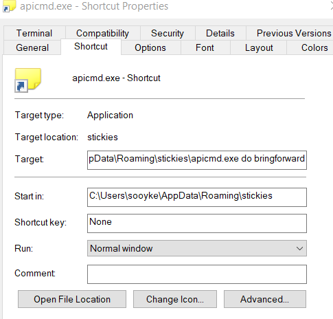 Disable New Note on Taskbar Icon Double Click 143710