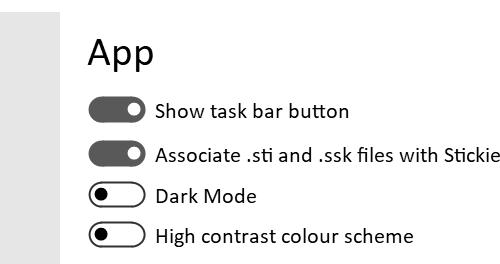 Pinning Stickies to task bar? 156710