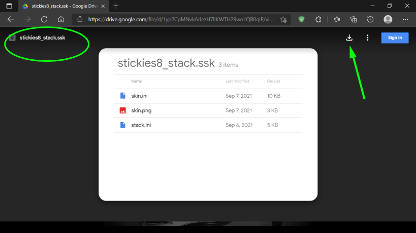 How to modify font sizes for the stack title bars ? 292710
