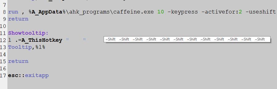 Caffeine Multiple Command Lines D3337211