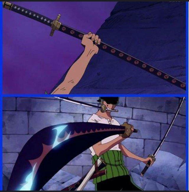 Ποια ειναι η γνωμη σας για την  μαυρη  λεπιδα του σπαθιου του zoro(shusui)  ? O1aj9q10