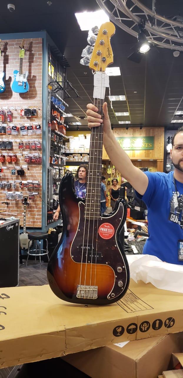 Squier Classic Vibe(2019) 60's Precision Bass Review quase Completa. 110