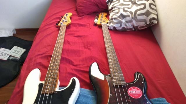 Squier Classic Vibe(2019) 60's Precision Bass Review quase Completa. 1210