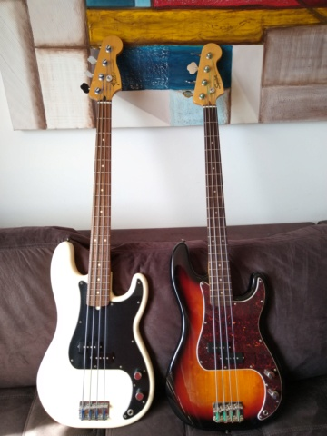 Squier Classic Vibe(2019) 60's Precision Bass Review quase Completa. 1610