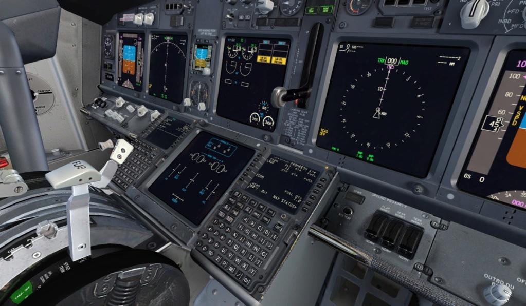 Configuração painel 737 Pmdg 3010