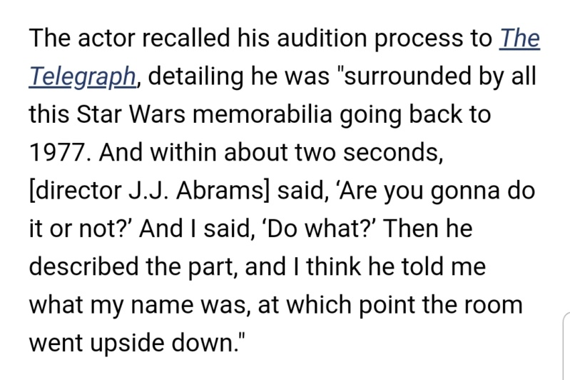Episode IX: The Rise of Skywalker Press Tour & Interviews - Page 23 Screen91