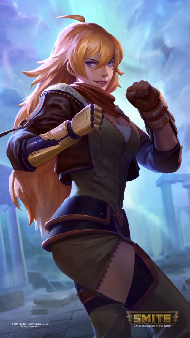 Astrid «Golden Dragon» Arvidsson Smite-11