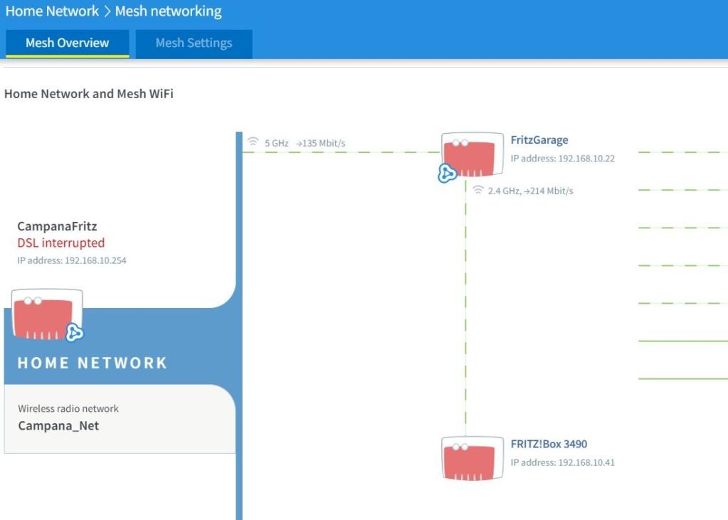 Configurare un secondo mesh repeater Mesh10
