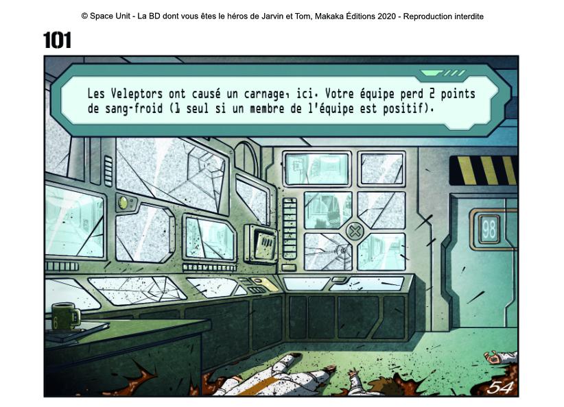 Space Unit, la BD dont vous êtes le héros Extrai11