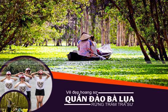 TOUR ĐẢO BÀ LỤA - RỪNG TRÀ SƯ 2 NGÀY 37073510