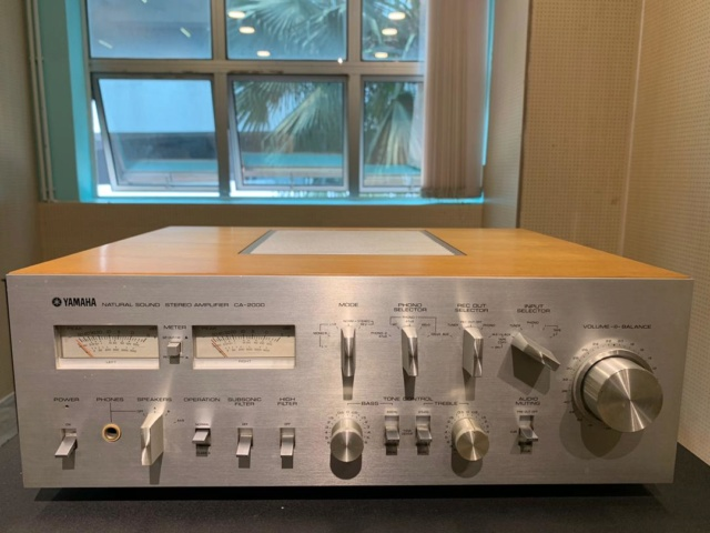 Yamaha CA-2000 Solid State Integrated Amp (Used) Img-2011