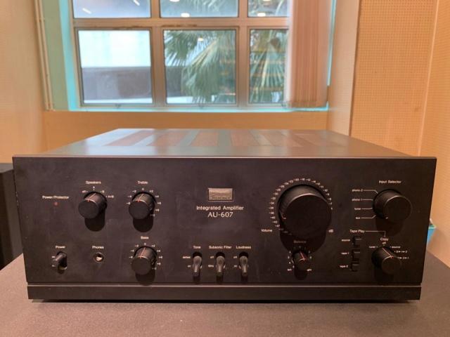 Sansui AU-607 Solid State Integrated Amp (Used) Img-2014