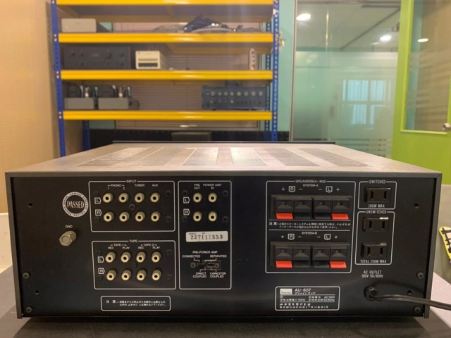 Sansui AU-607 Solid State Integrated Amp (Used) Img-2015