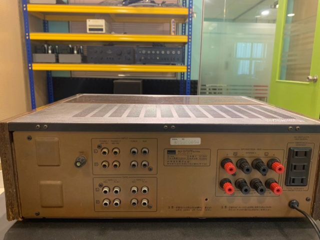 Sansui AU-D707F extra Solid State Integrated Amp (Used) (re-open) Img-2019