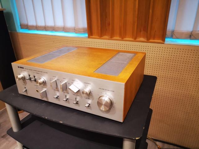Yamaha CA-1000 (240V) Integrated Amp (Used) SOLD Img_2012
