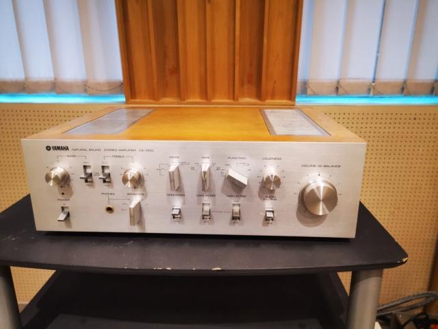 Yamaha CA-1000 (240V) Integrated Amp (Used) SOLD Img_2014