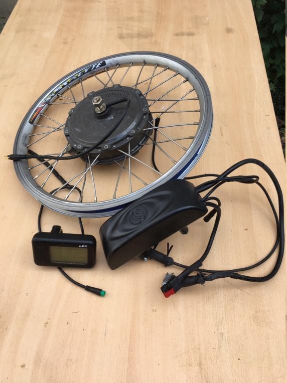 Cède  un kit d'électrification Crystalyte pour Brompton… sans batterie Img_4712