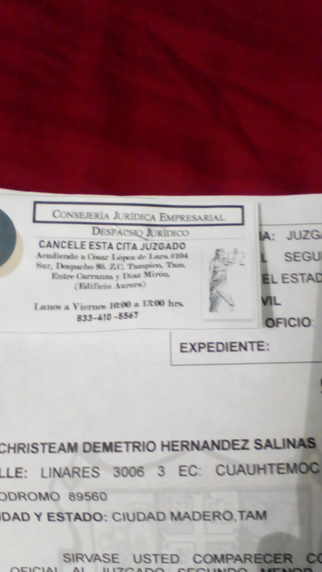 DUDA CON UN CITARORIO DEL JUZGADO PRIMERO MENOR Img_2010
