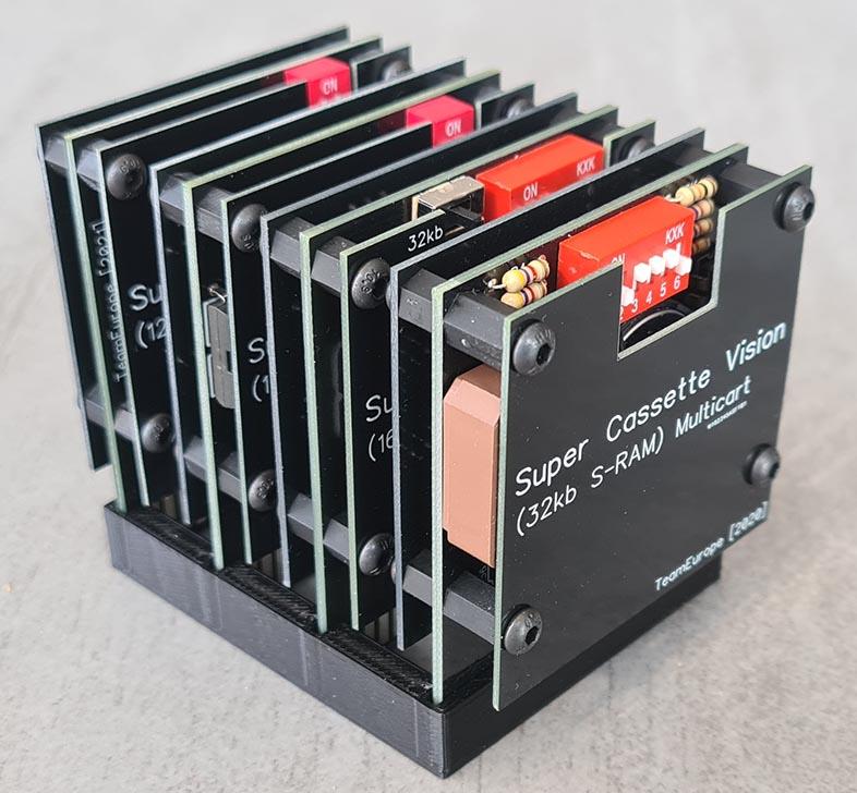 [COMMANDE TERMINÉE] Super Cassette Vision Multicarts 20210411