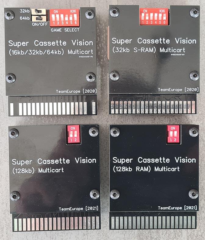 [COMMANDE TERMINÉE] Super Cassette Vision Multicarts 20210412
