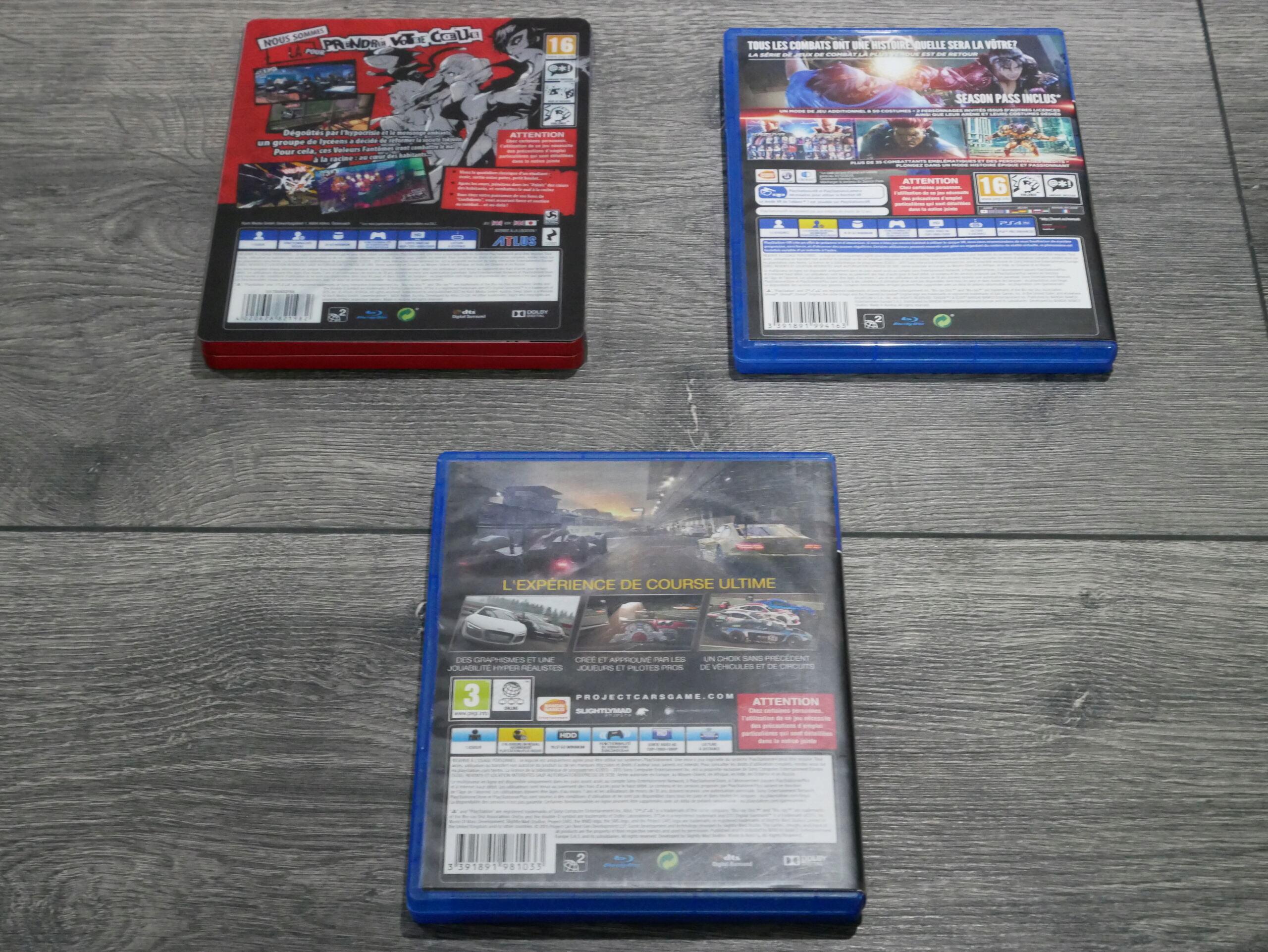 [EST] Jeux PS4 : Personna 5, Tekken 7 et Project Cars 1 P1070238