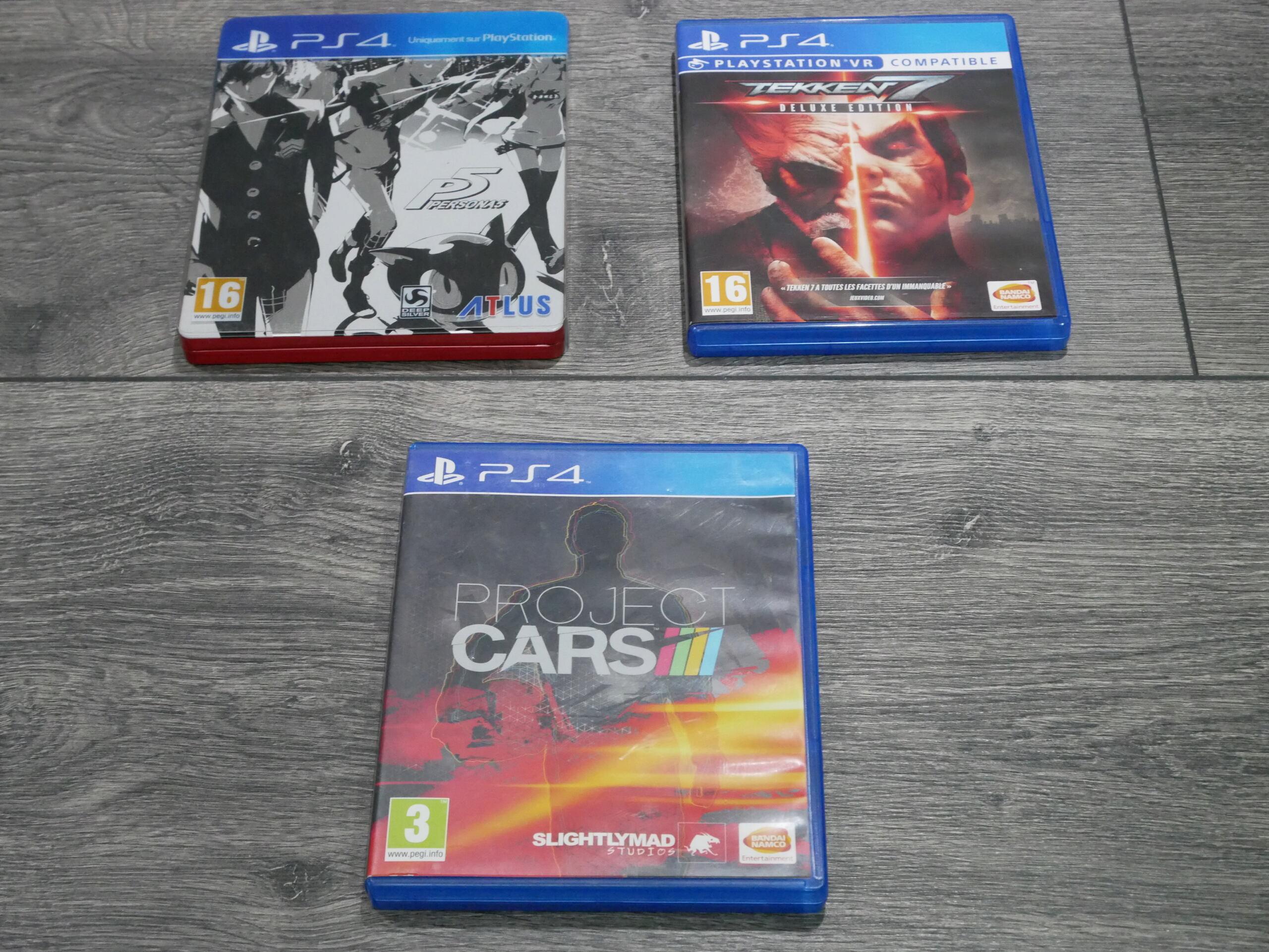 [EST] Jeux PS4 : Personna 5, Tekken 7 et Project Cars 1 P1070239