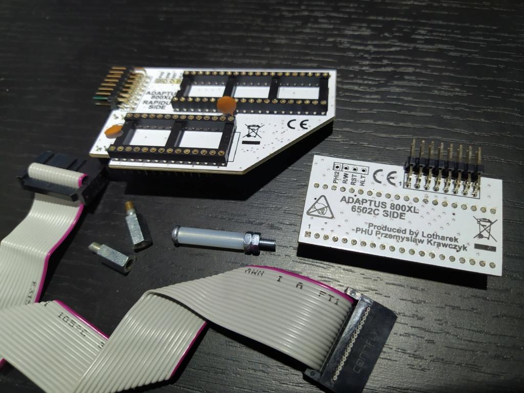 [VDS] RAPIDUS Lotharek neuf pour Atari 800XL Proces55