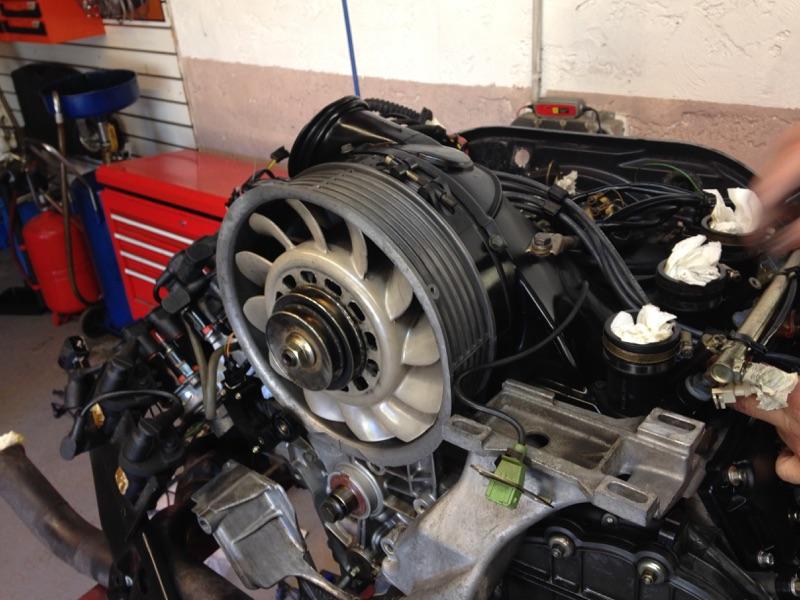 grande révision Porsche 993 00310