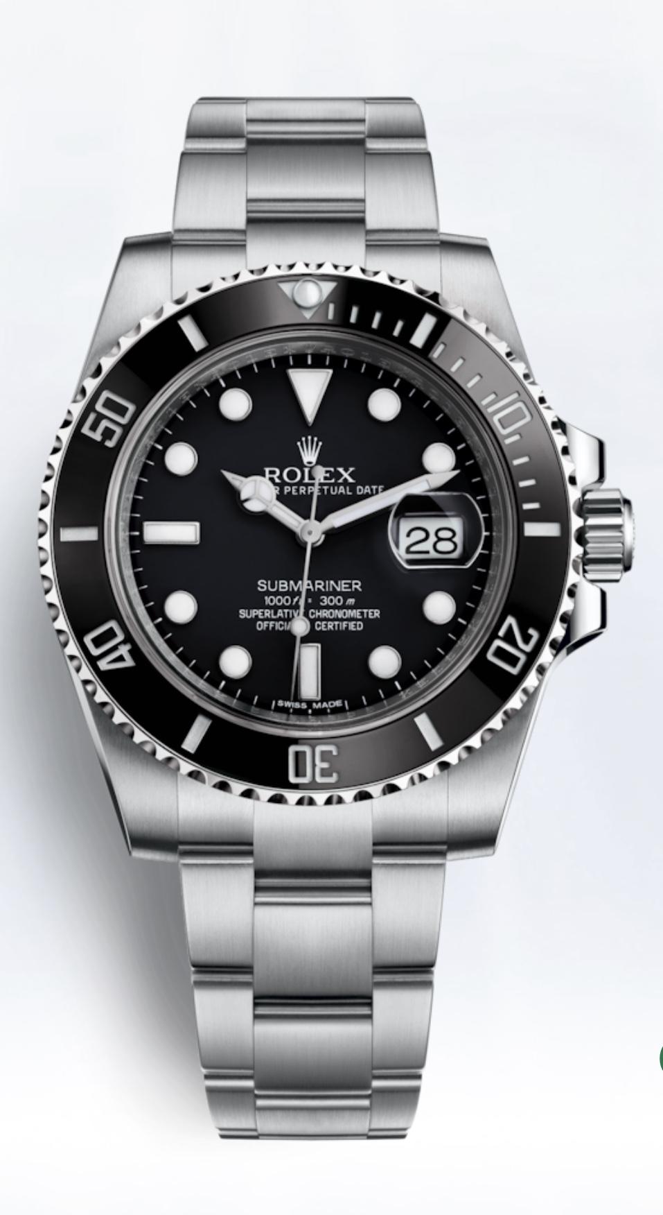 Rolex Submariner Date ou Hublot Classic Fusion Chronograph ? 33c42510