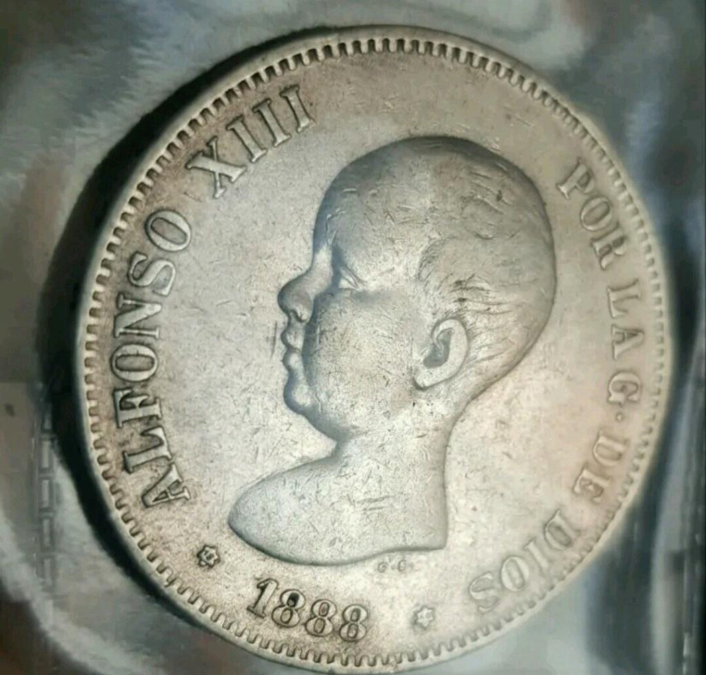 5 pesetas 1888. Alfonso XIII. MSM. Opinión Img_2011