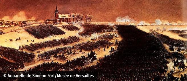 La bataille d'Eylau Illustration Brase d'Anjou Eylau110