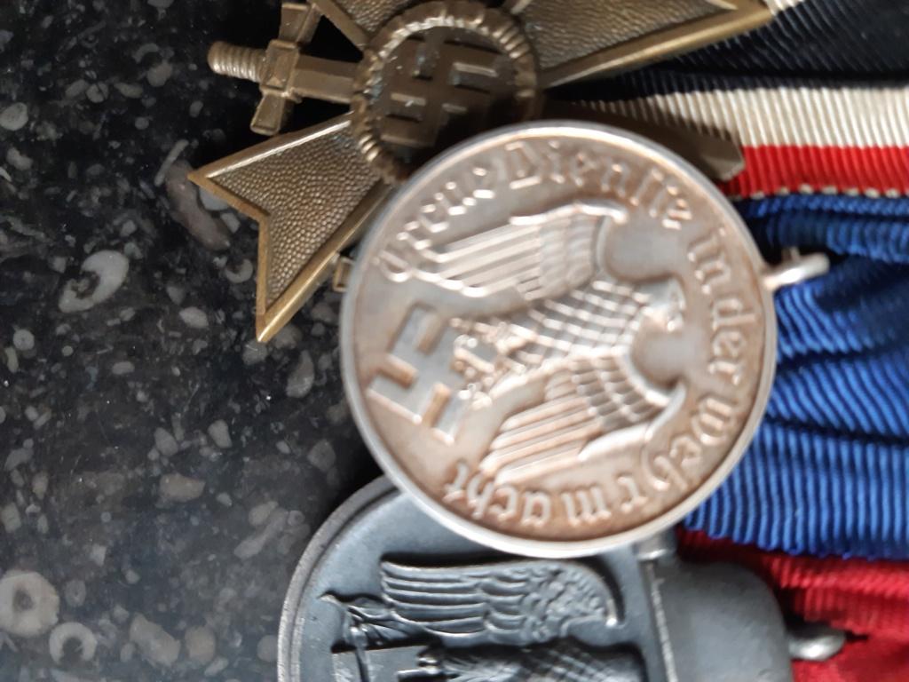 authentification medaille 12 ans de service luft  20200818