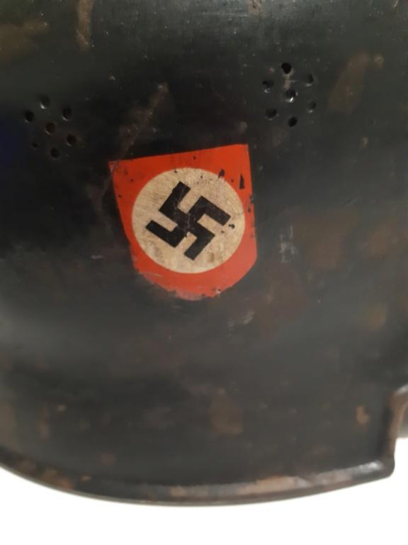 Identification casque alu allemand ww2 20201222