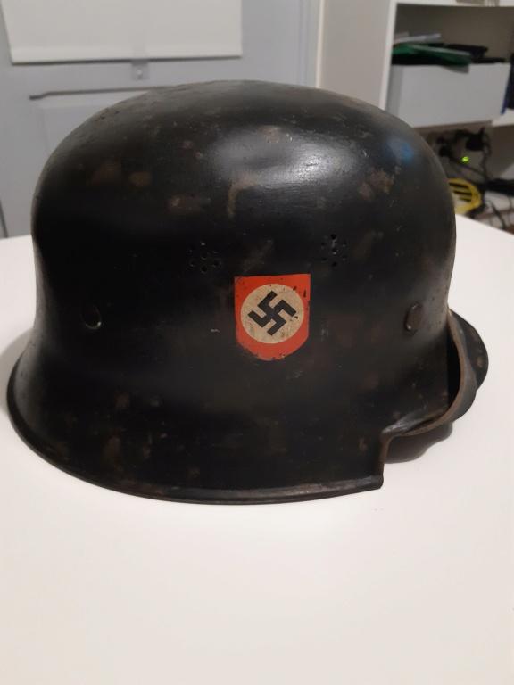 Identification casque alu allemand ww2 20201226