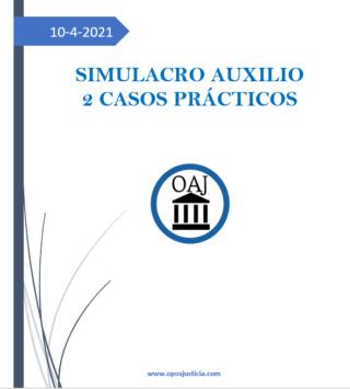 ÚLTIMO SIMULACRO AUXILIO 10 DE ABRIL. TEST + 2 SUPUESTOS PRÁCTICOS Screen83