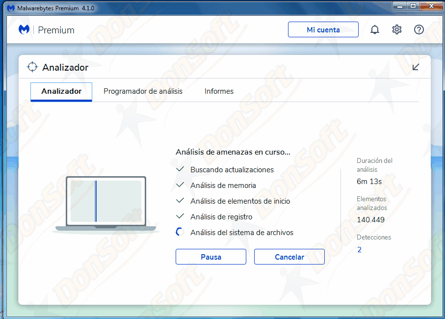 Manual Malwarebytes Antimalware 4.xx 1310