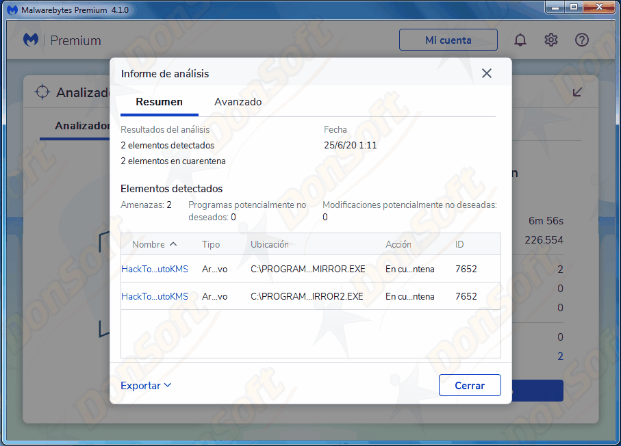 Manual Malwarebytes Antimalware 4.xx 1610