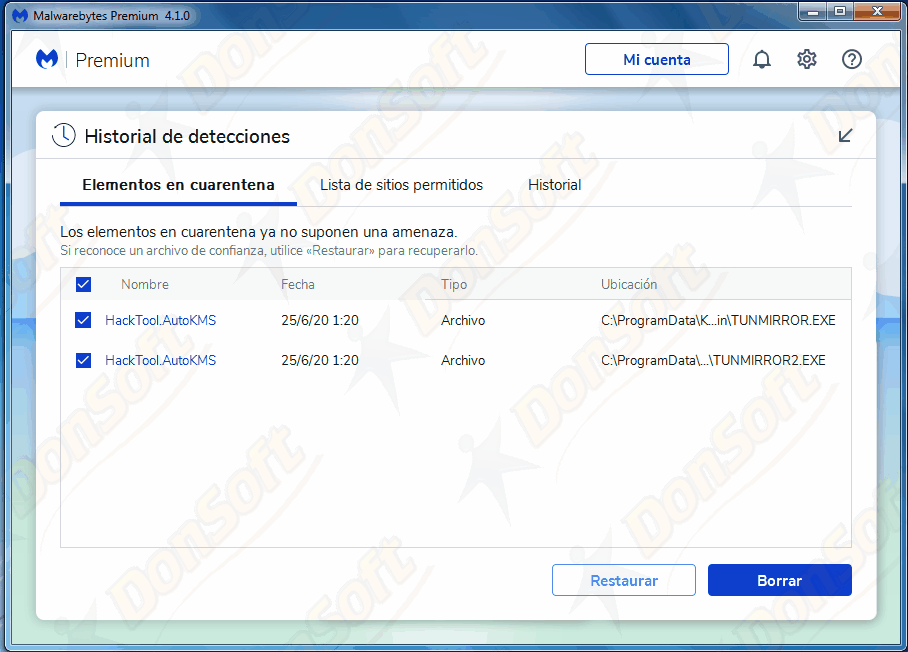 Manual Malwarebytes Antimalware 4.xx 1710