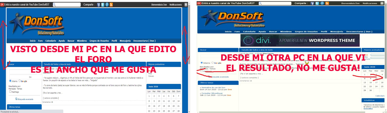 Ancho de página se mira en unos navegadores ajustado y en otros demasiado ancho Pcmia10