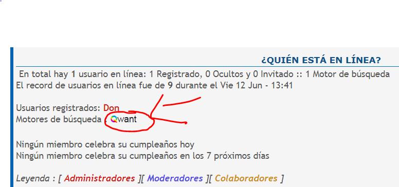 Motor de búsqueda desconocido Qwant10
