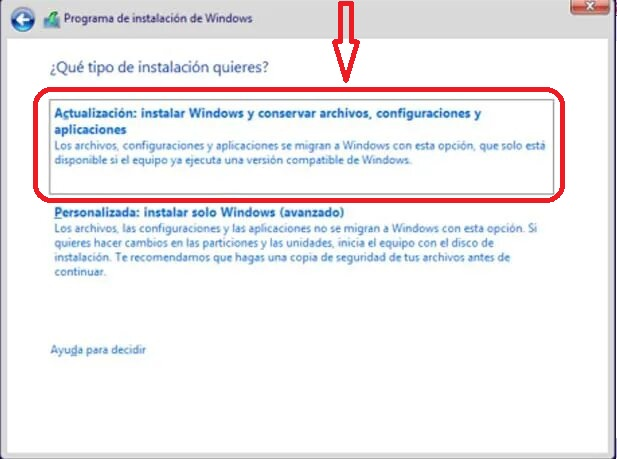 ¿Al reinstalar Windows7, perderé datos? Window10